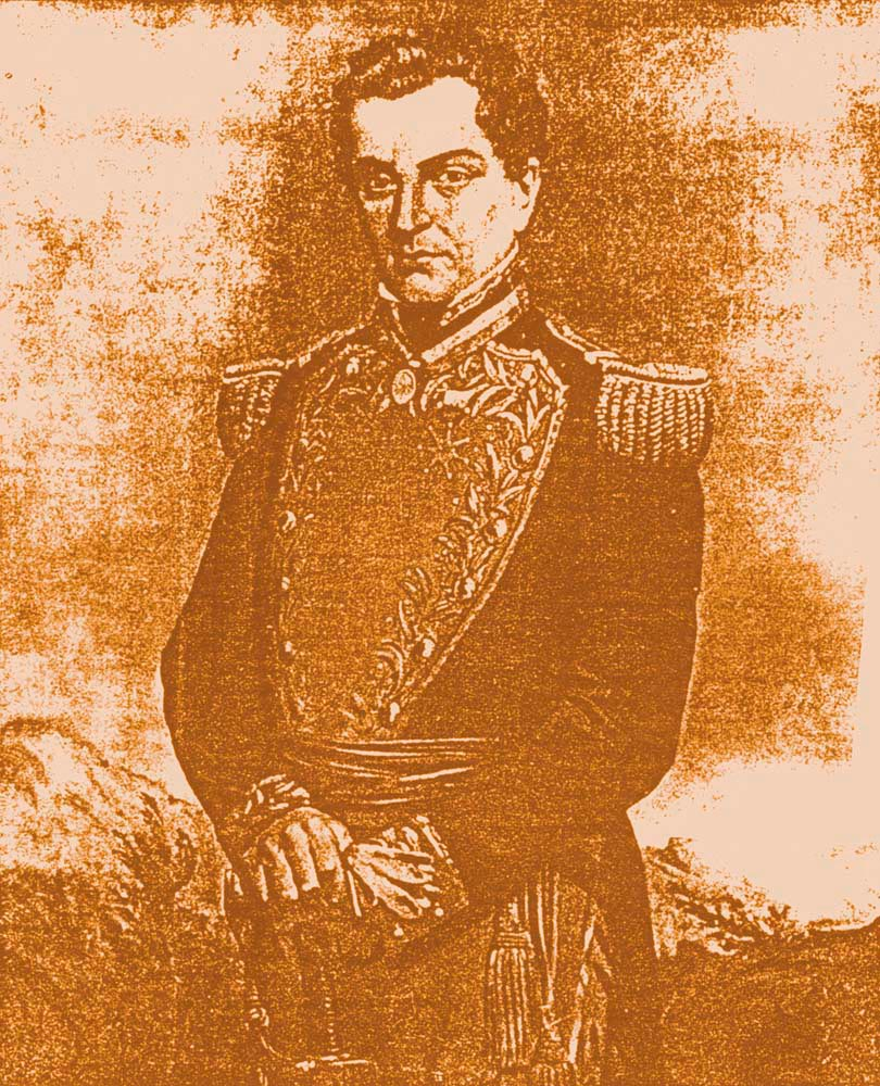 General Santiago Marino. Photograph by Catherine Gillo