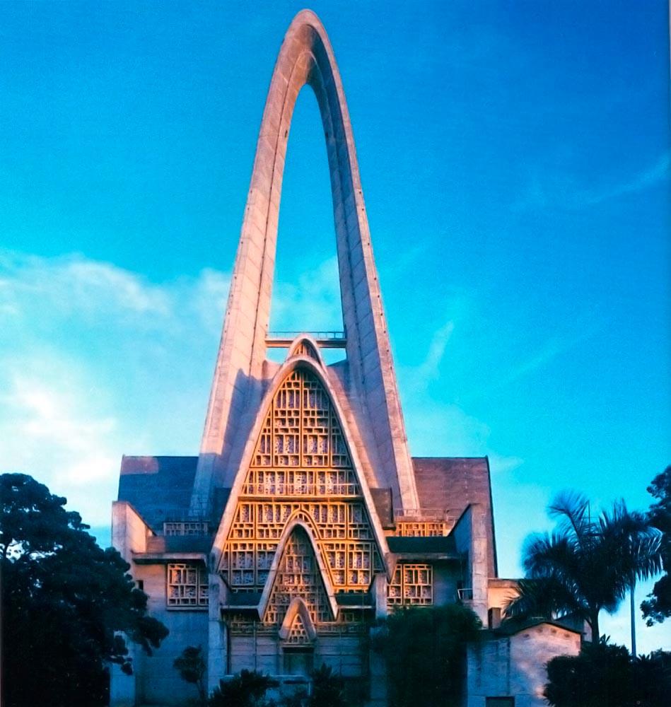 Basilica de la Virgenita, near Santo Domingo. Photograph by Wyatt Gallery