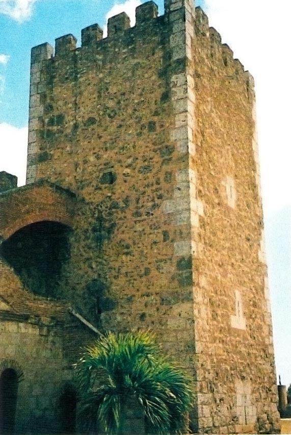 Tower of Homage, built in 1505. Photograph by James Fergusson