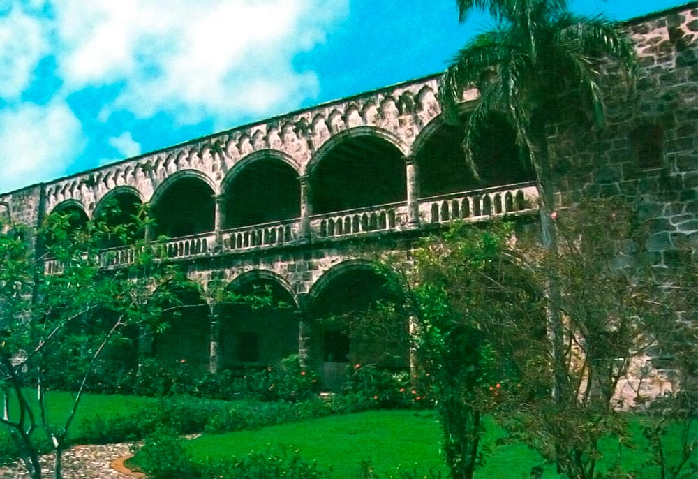 Sixteenth-century architecture: Governor Diego Columbus's house in the Zona Colonial. Photograph by Catriona Davidson