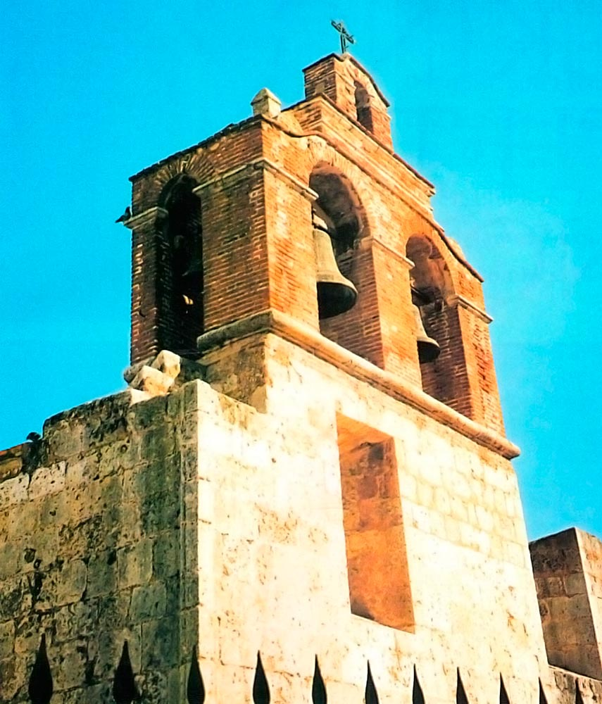 Catholic Cathedral in the Zona Colonial- the brickwork is 500 years old. Photograph by James Fergusson
