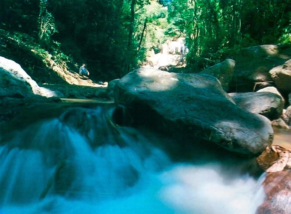Argyle Waterfall. Photograph by Sean Drakes/Blue Mango