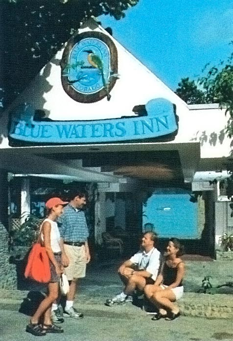 Photograph courtesy Blue Waters Inn