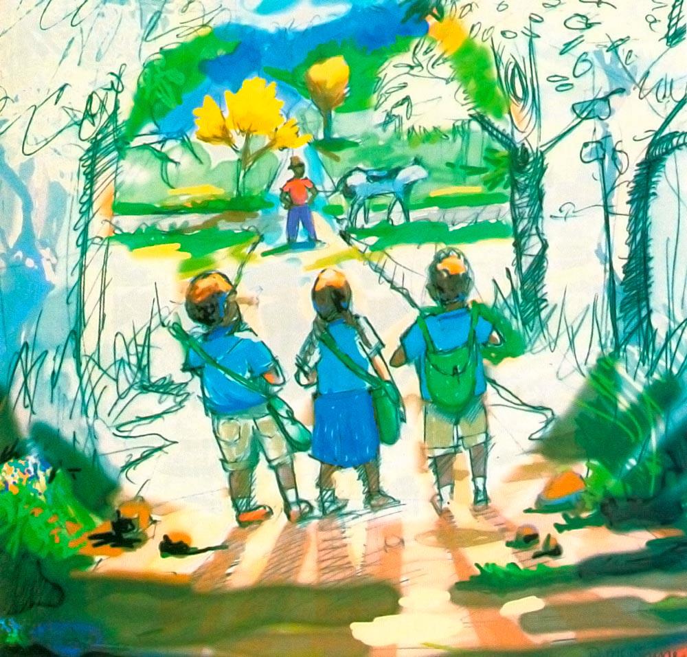 Illustration by Wendell McShine
