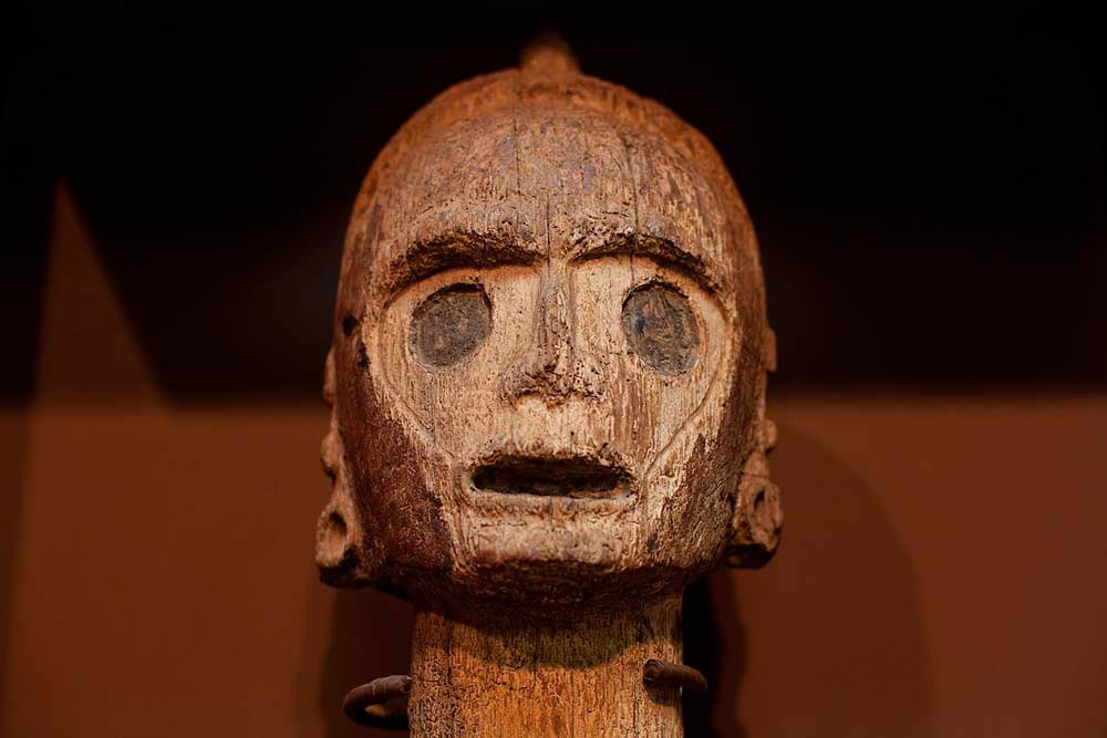 Wooden zemis, Jamaica. Photo by courtesy The National Gallery of Jamaica