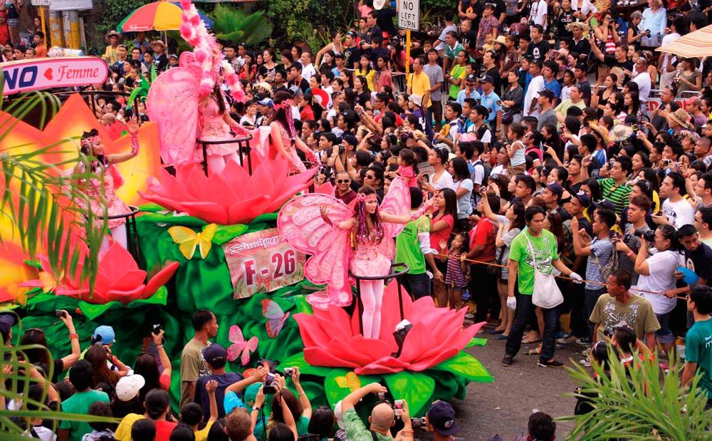 Cebu City's annual Sinulog festival pays tribute to the Santo Ni–o. Photo by Patrimonio Designs Ltd / Shutterstock.com