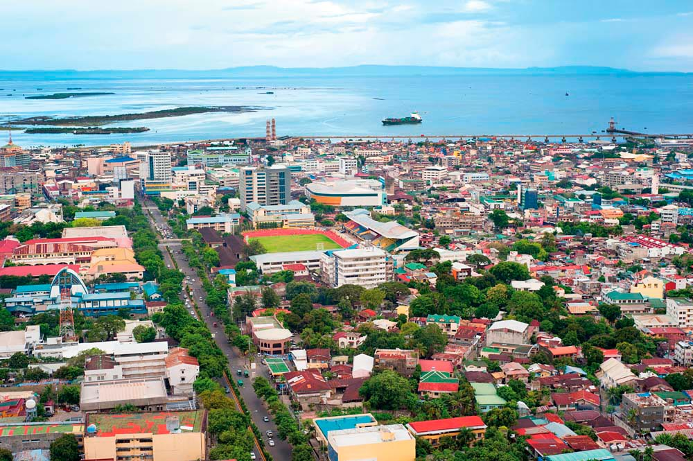 The Philippines' oldest city, Cebu has a population of nearly nine hundred thousand. Photo by Joyfull / Shutterstock.com