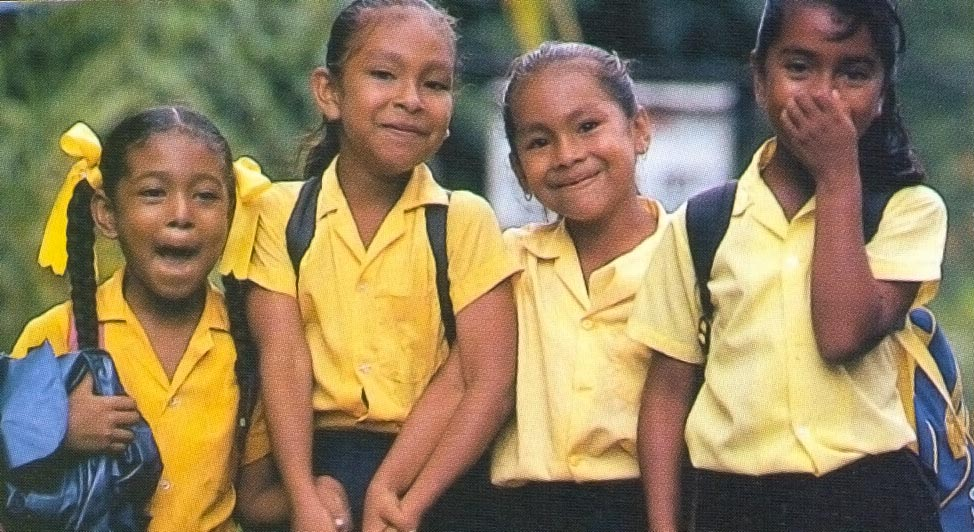 Children of the Carib Territory. Photograph by Clem Johnson/ Freestyle