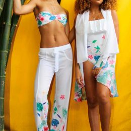 Swimwear from Trèfle's Atacama collection. Photo by Teeona Lane