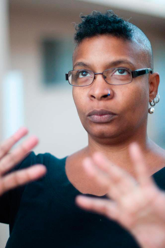 Nalo Hopkinson. Photo by David Findlay, courtesy Nalo Hopkinson