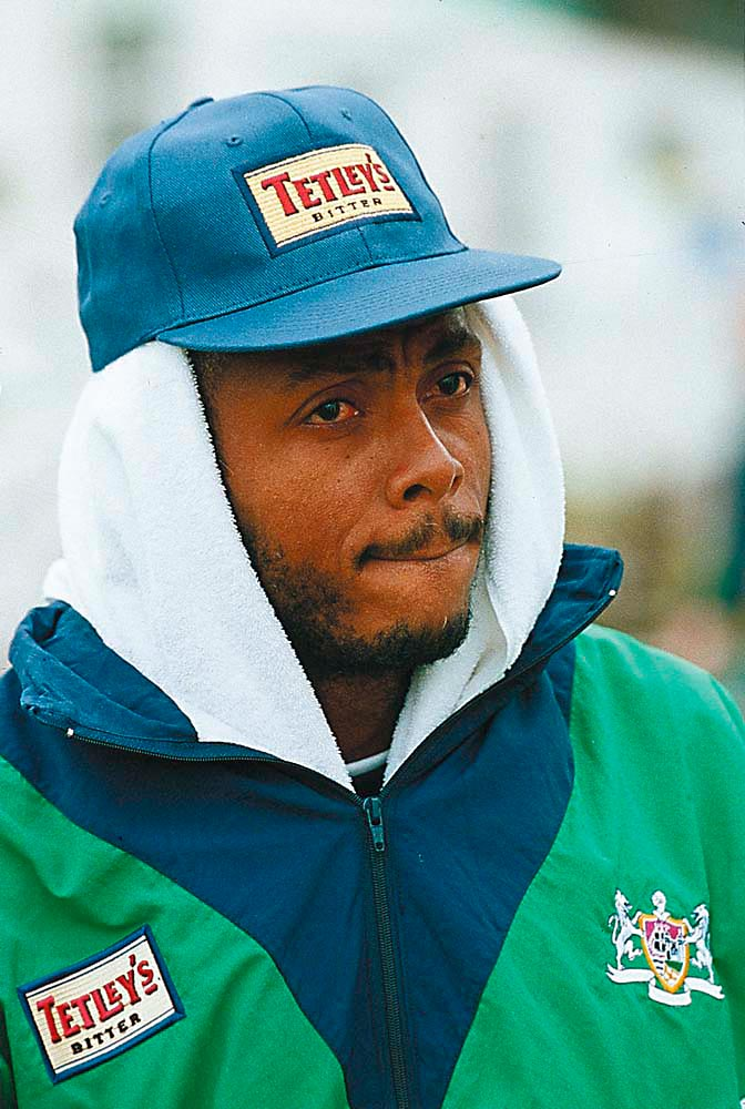 Courtney Walsh. Photograph by Laurence Griffiths/ Allsport