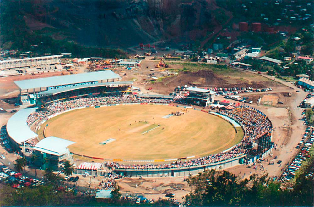 Grenada National Stadium, St George's. Courtesy GNS
