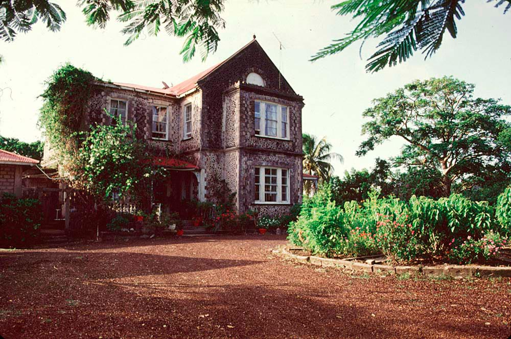 Morne Fendue Plantation House. Photograph by Chris Huxley