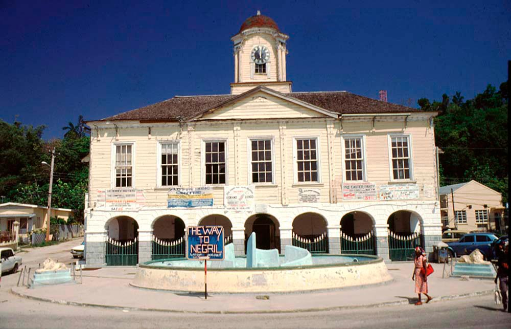 Town Hall, Lucea, Hanover. Photograph by Mike Toy