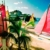 Sails on the beach at Ciboney Resort, Ocho Rios, St Ann. Photograph by Mike Toy