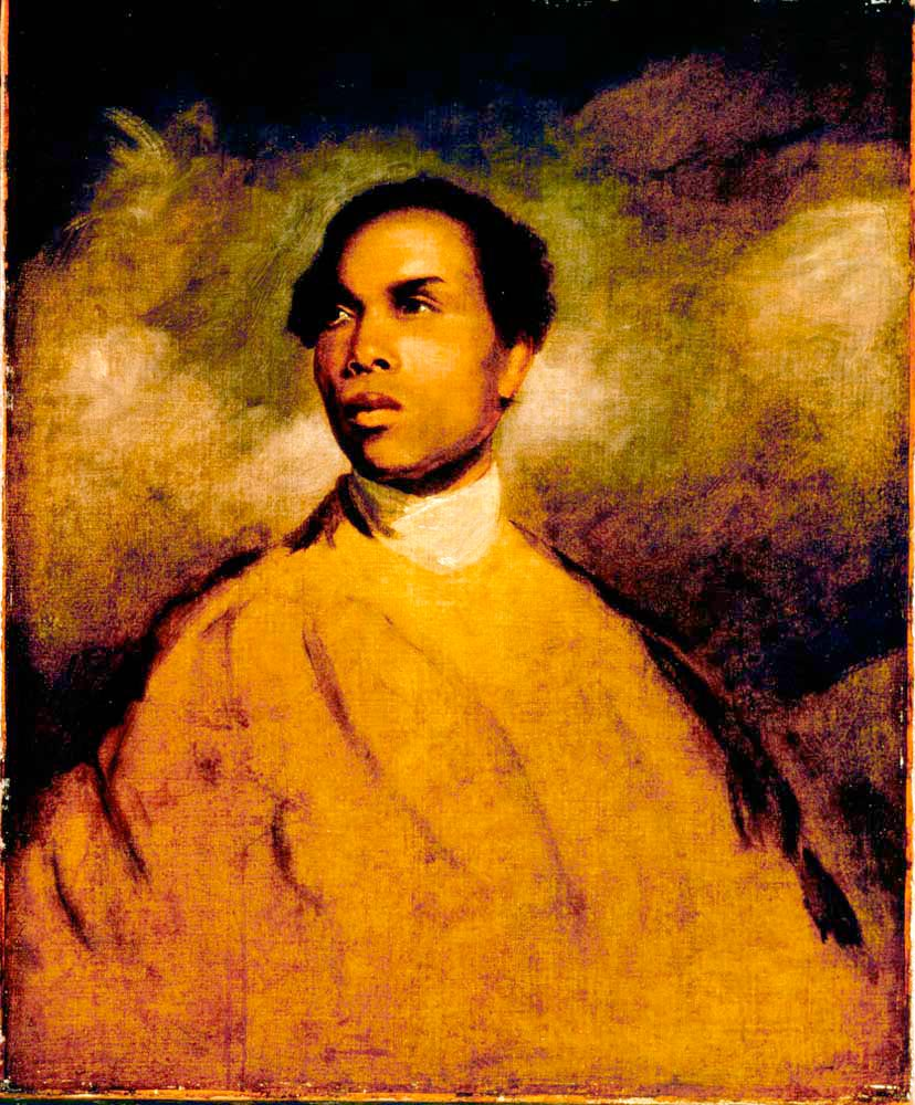 A Young Black by Sir Joshua Reynolds — a portrait of Francis Barber. Painting by Tate Gallery Publications