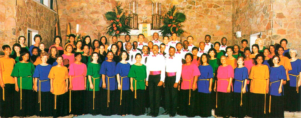 The Marionettes Chorale- celebrating its 35th anniversary this year. Photograph by W. Garth Murrell (PIPS)