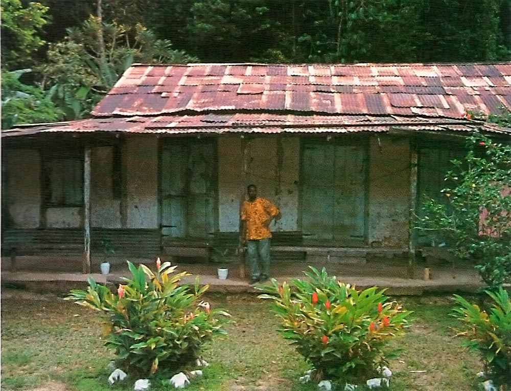 Traditional tapia house, made from mud. Photograph by Mark Meredith