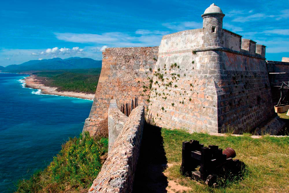 The Castillo de San Pedro de la Roca once protected the city of Santiago de Cuba from sea invasion. Photo by Shutterstock.com/Corlaffra