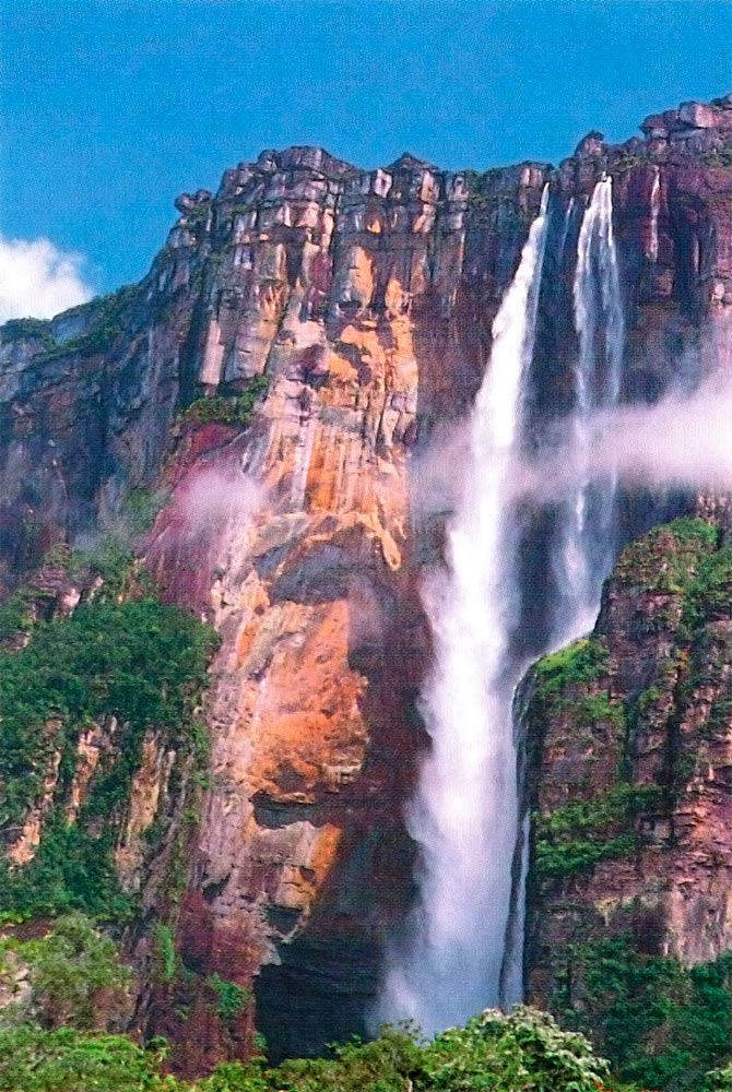 Angel Falls, Canaima National Park. Photograph by Ramon Rangel