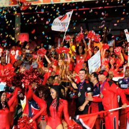 2015 CPL champions Trinidad and Tobago Red Steel. Photo courtesy www.cplt20.com