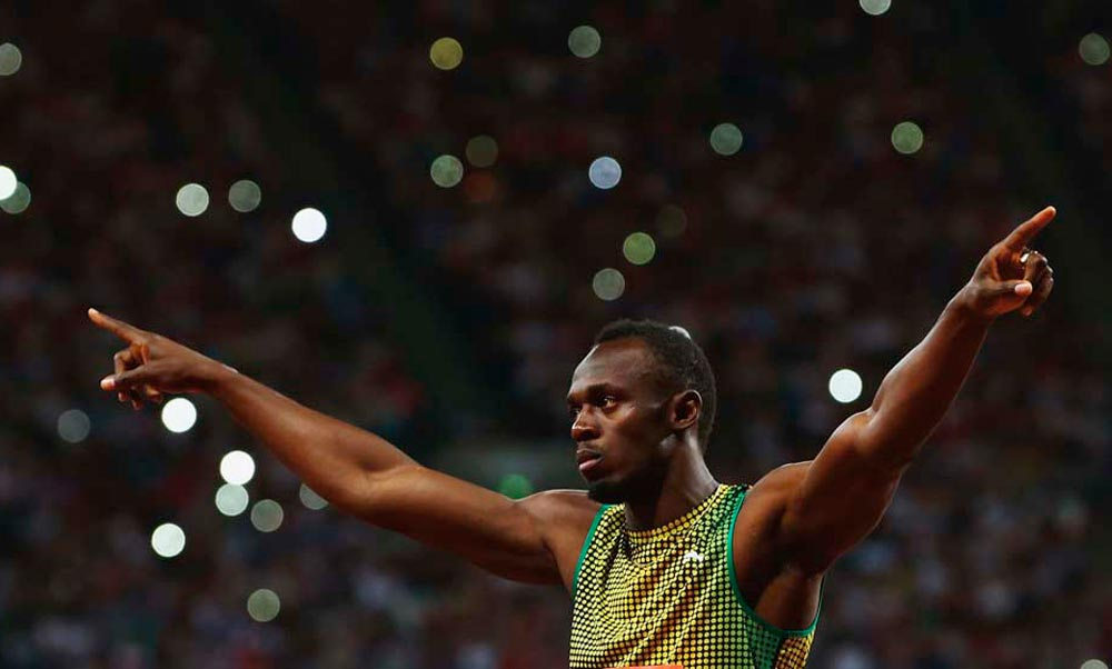 Usain Bolt. Photo by Jan Kruger/Getty Images