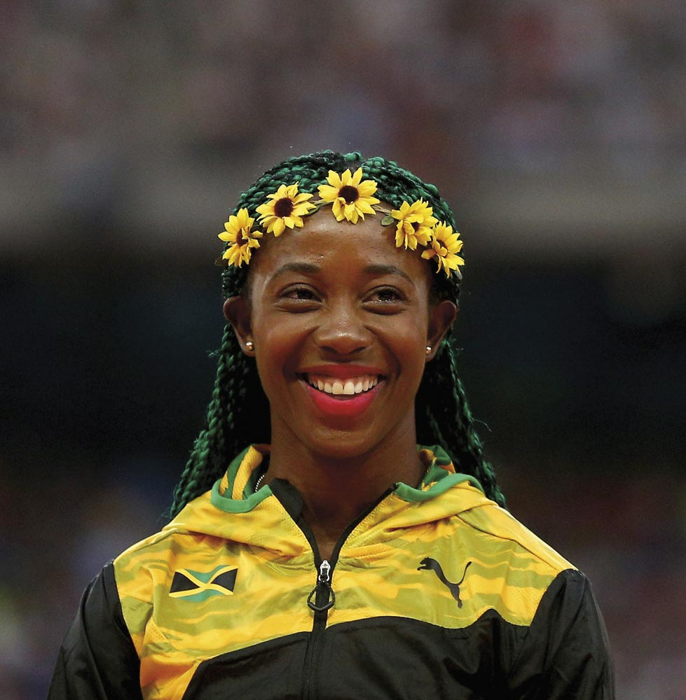 Shelly-Ann Fraser-Pryce. Photo by Cameron Spencer/Getty Images