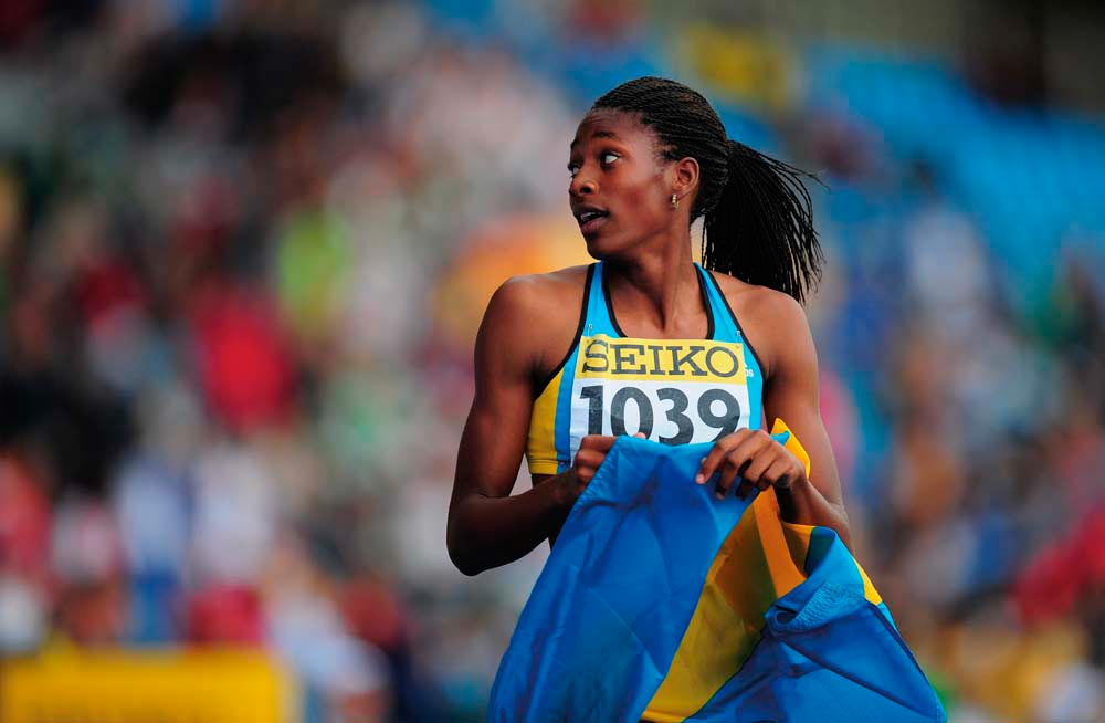 Shaunae Miller. Photo by Stu Forster/Getty Images