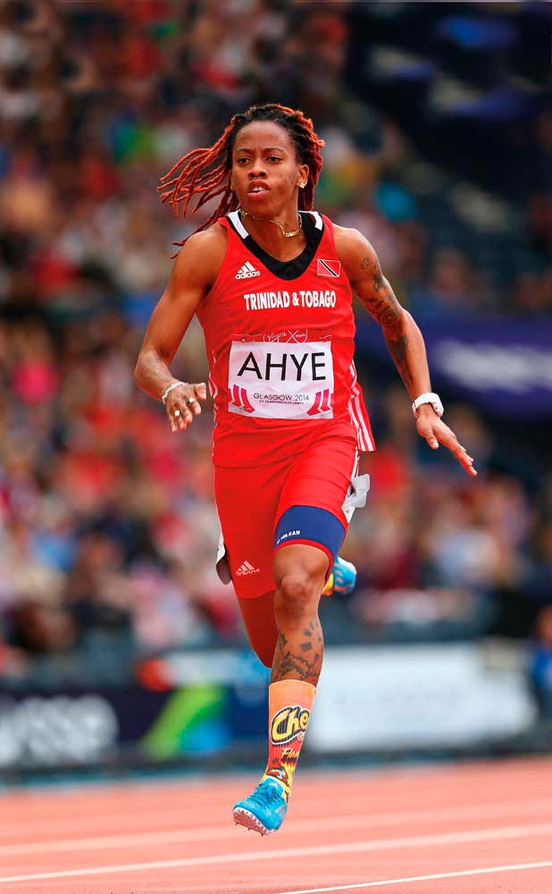 Michelle-Lee Ahye. Photo by Cameron Spencer/Getty Images