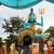 Colourful murtis at a Hindu temple in Weg naar Zee, north-west of central Paramaribo. Photo by Ariadne Van Zandbergen
