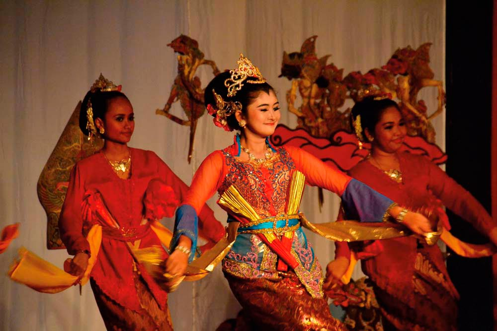 Suriname's Javanese cultural heritage includes traditional dance, music, shadow puppetry, and cuisine. Photo by The Suriname Tourism Foundation