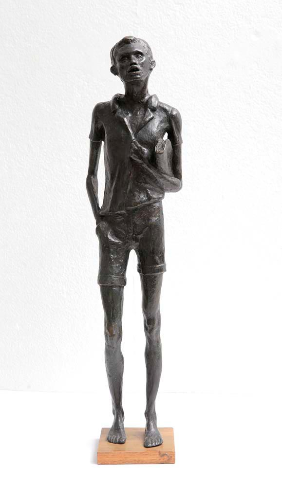 Star Boy (bronze, 1972), by Kay Sullivan. Pictures courtesy National Gallery of Jamaica