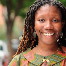 Jamaica-born debut author Nicole Dennis-Benn. Photo courtesy Nicole Dennis-Benn