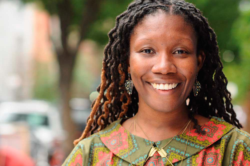Jamaica-born debut author Nicole Dennis-Benn. Photo courtesy Nicole Dennis-Benn