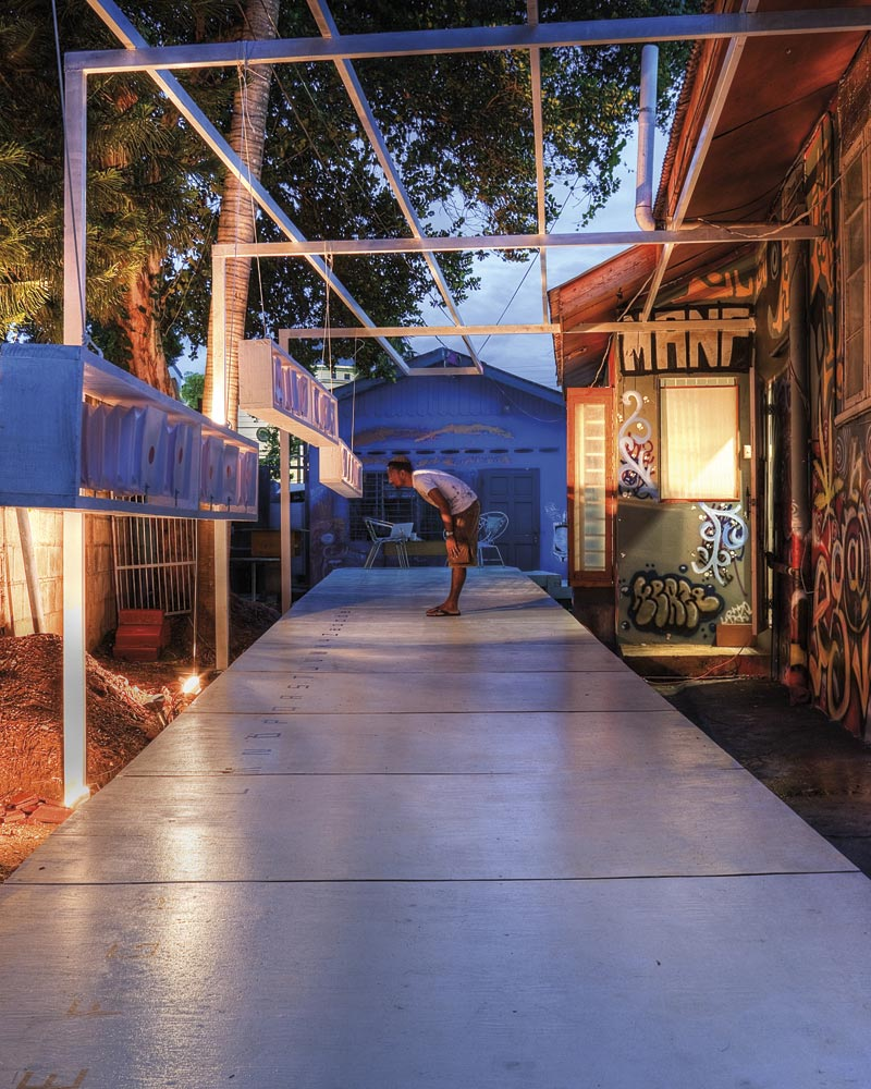 Alice Yard, a contemporary art space in Port of Spain, Trinidad, marks its tenth anniversary in September 2016. Photo by Damian Libert