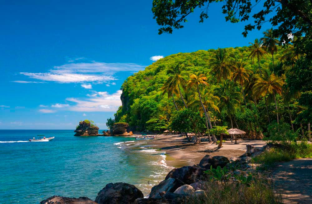 Anse Mamin, just north of Soufrière. Photo by Alan Copson/Awl Images/Getty Images