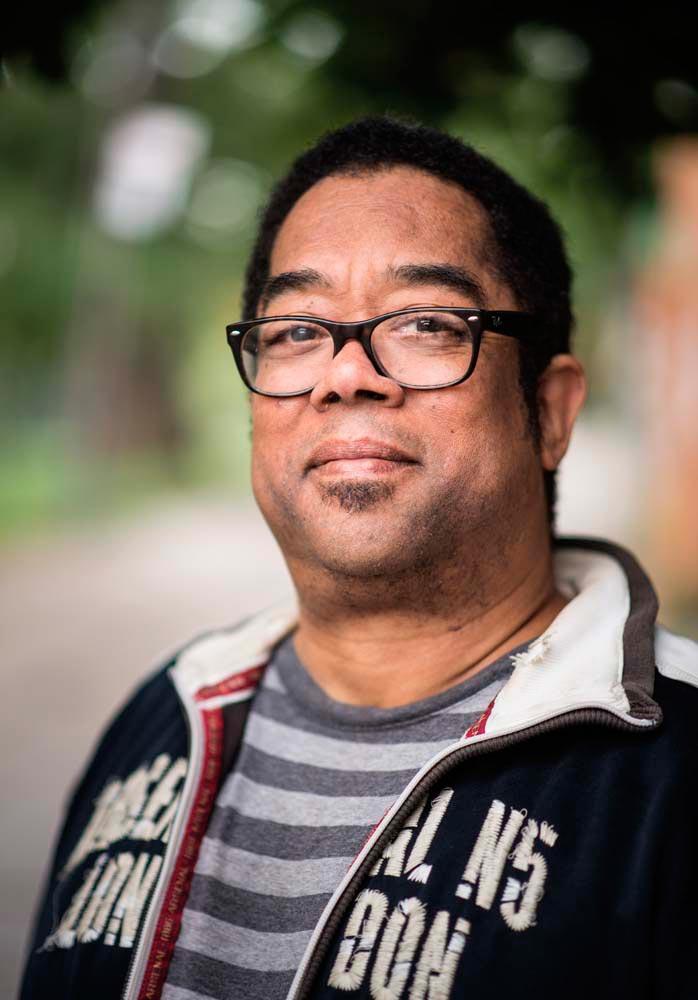 Trinidadian-Canadian writer AndrŽ Alexis. Photo by Hannah Zoe Davidson