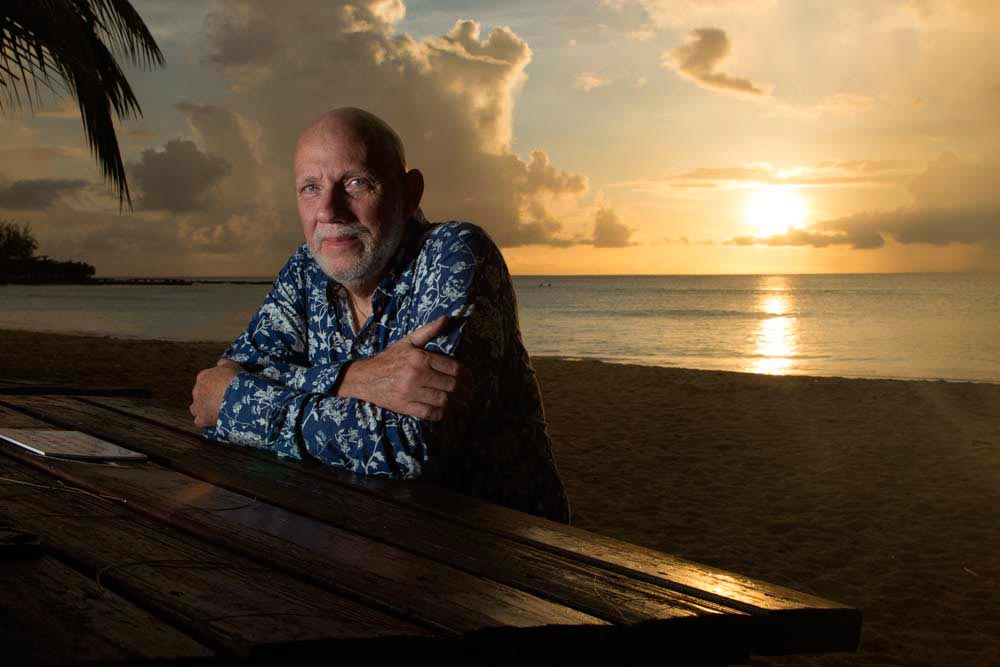 John Roett takes in the sunset in his favourite place: the seashore. ©iStock.com/Tomml