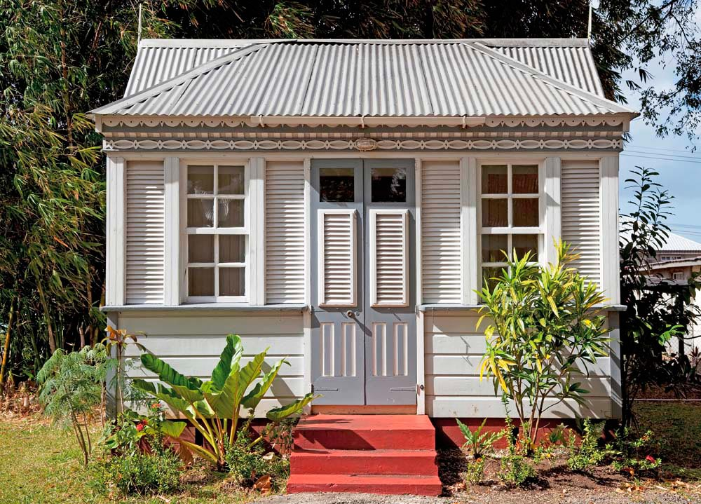 Tiny chattel houses are Barbados's most characteristic form of folk architecture. Photo ©iStock.com/Onfilm