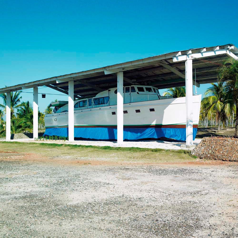 A replica of the historic boat Granma, on display at Cuba's Parque Nacional Desembarco del Granma. Phb.cz (Richard Semik)/Shutterstock.com