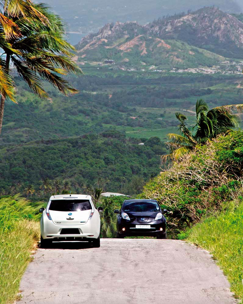 Barbados leads the Caribbean region in adopting environmentally friendly electric vehicles. Photo courtesy Megapower Barbados