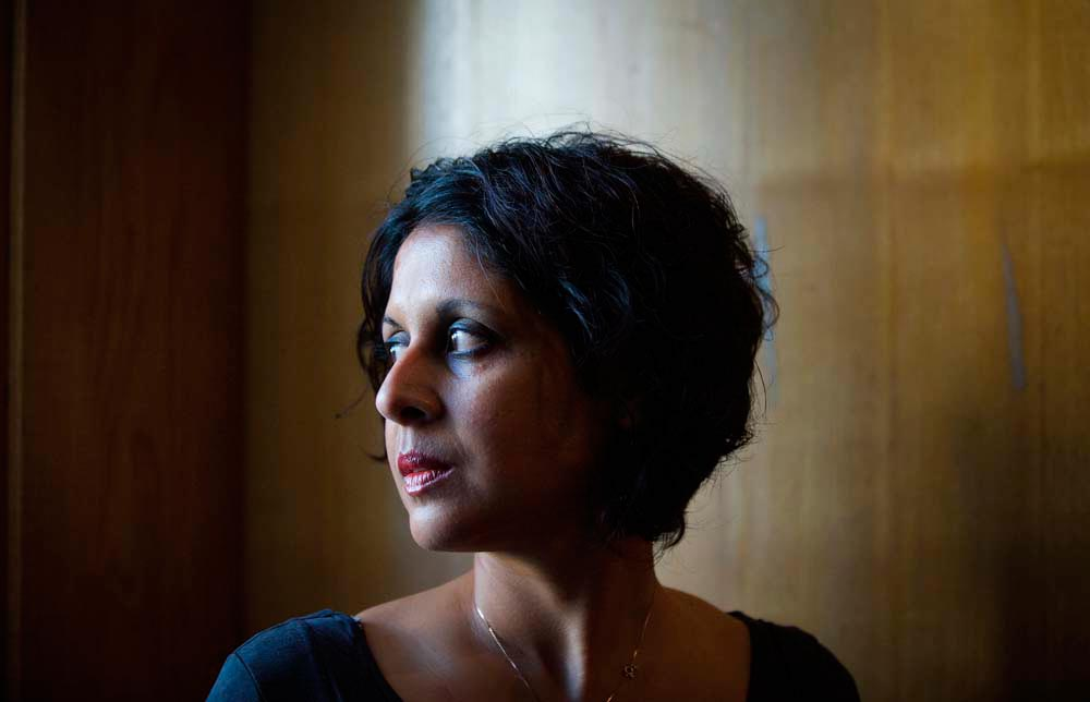 Writer Vahni Capildeo. Photograph by Hayley Madden for the Poetry Society