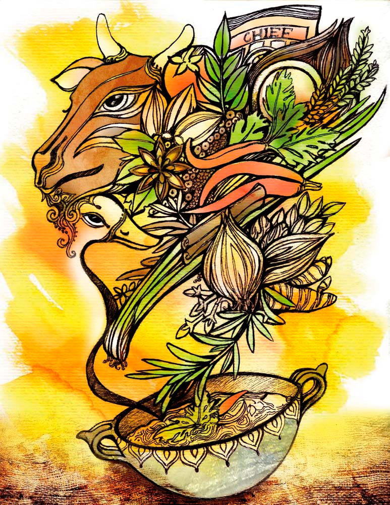 Illustration by Shalini Seereeram