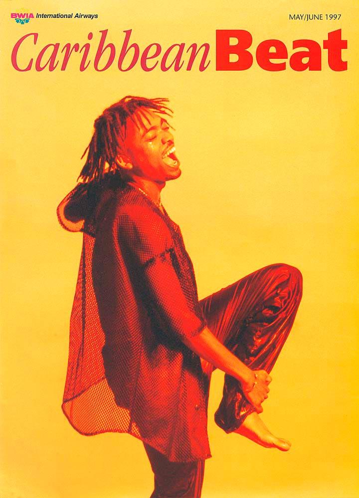 25 • Trinidad soca legend Machel Montano, May/June 1997. Photo courtesy Delicious Vinyl