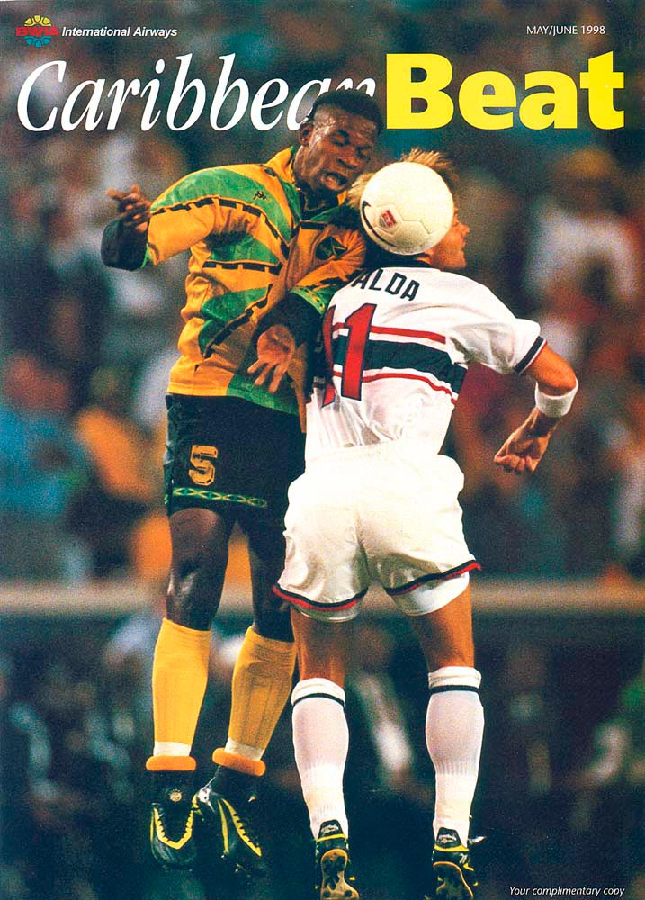 31 • Jamaica at the World Cup, May/June 1998. Photo by Doug Pensinger/Allsport