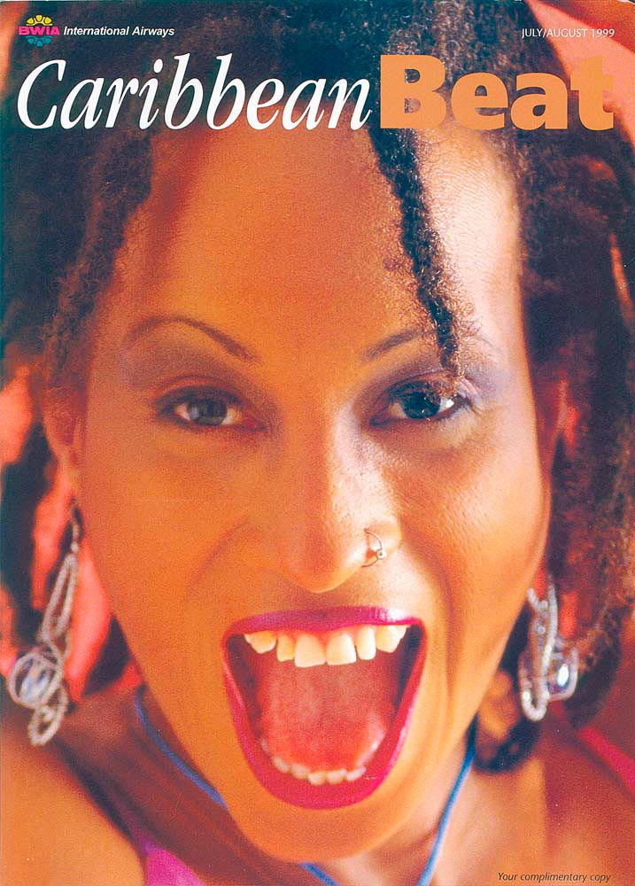 38 • Barbadian soca star Alison Hinds, July/August 1999. Photo by Eric Young