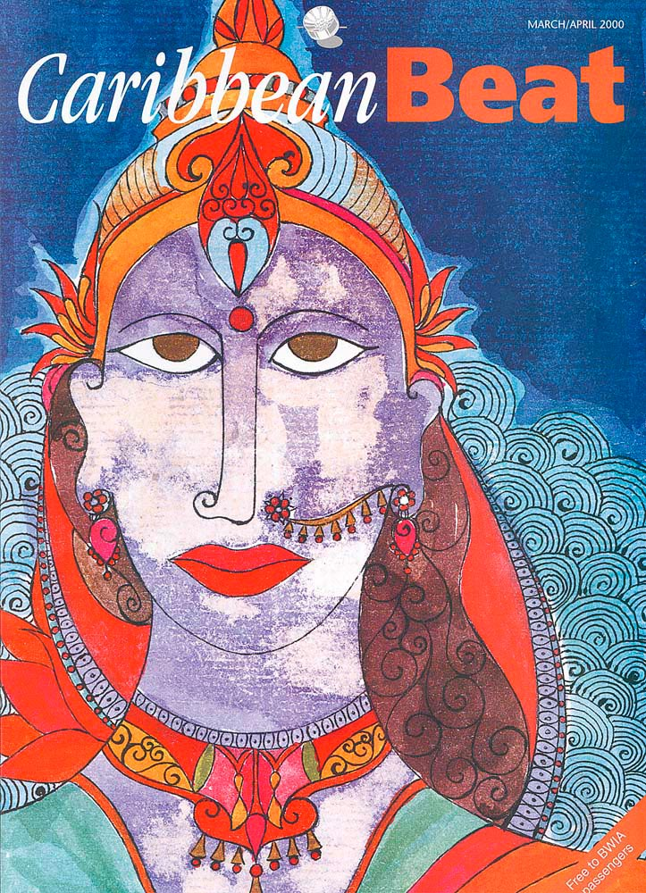 42 • The Ramayana in Trinidad, March/April 2000. Illustration by Shalini Seereeram