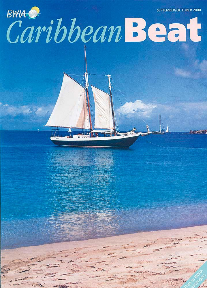 45 • Sailing off St Vincent, September/October 2000. Photo by Chris Huxley