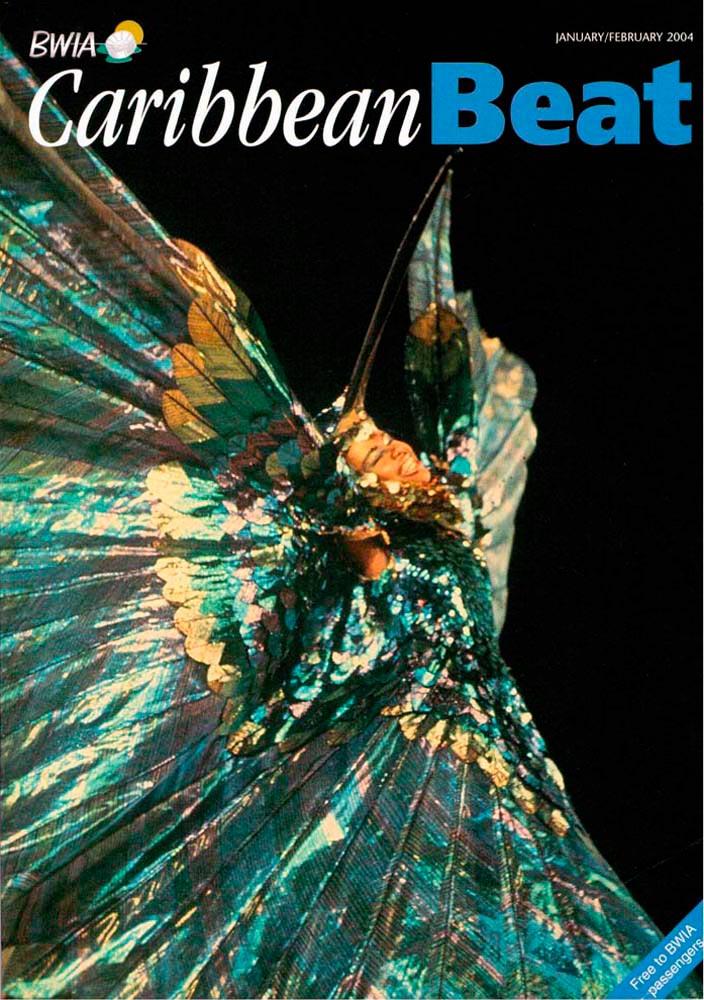 65 • Peter Minshall's Hummingbird, January/February 2004. Photo by Roy Boyke, courtesy the Callaloo Company