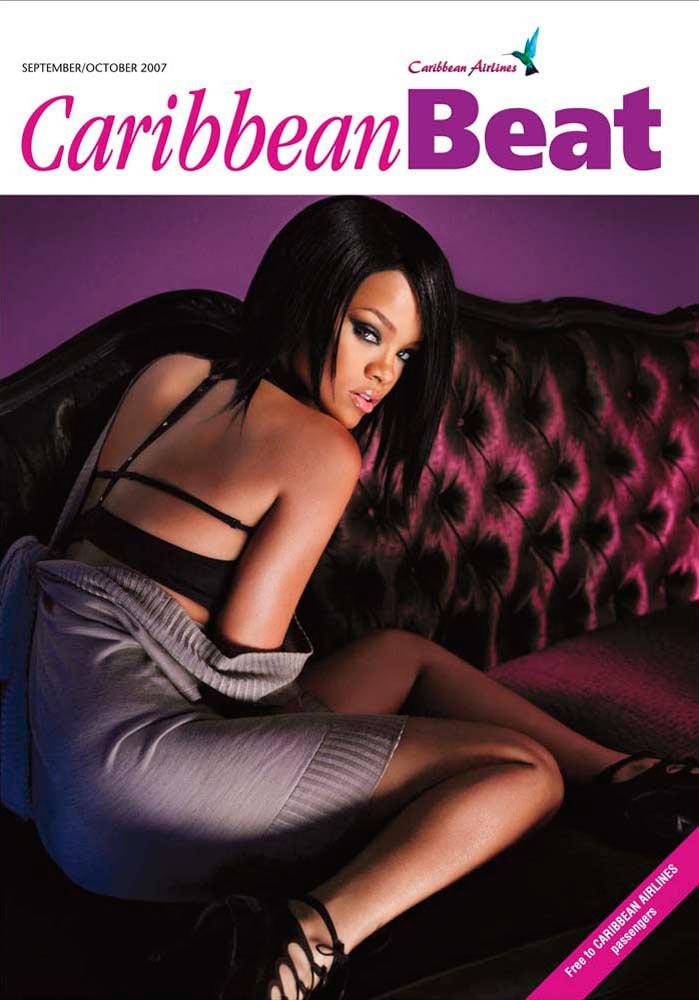 87 • Barbadian superstar Rihanna, September/October 2007. Photo courtesy Roberto D'Este